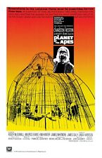 """Planet of the Apes (1968) Silk Fabric Movie Poster Sci-Fi 27""""x40"""""""