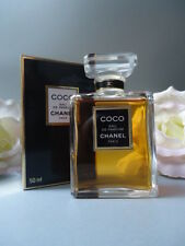 CHANEL COCO EDP 50ml SUPERB RARE VINTAGE 1980s SEALED BOX LUXURY CHANEL GIFTWRAP