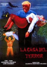 LA CASA DEL TERROR (DVD PRECINTADO) TERROR DE CULTO VAMPIROS  TIN-TAN LON CHANEY