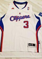 Authentic Chris Paul Los Angeles Cliperes NBA Adidas Jersey kids S/M/L White