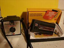 Three Vintage Camera'S Pocket Instamatic Satellite 127 & Instamatic Model A