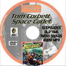Tom Corbett Space Cadet - 51 Old Time Radio Shows - Audio MP3 CD