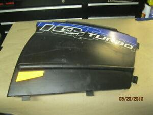 Rear Bumper SM-12532 Chrome For 2010 Polaris 600 SwitchBack~Sports Parts Inc