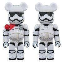 BE@RBRICK Star Wars 2 Pack First Order StormTrooper & Officer 70mm Figure