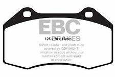 DPX2021/2 EBC Ultimax Front Brake Pads for 695 Punto Evo 4C Mi.To