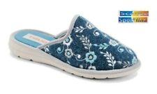 Pantofole ciabatte invernali donna Tiglio 2580 blu MADE IN ITALY