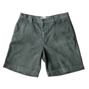 Vintage Timberland RE-WORKED Corduroy Shorts Green W38