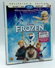 Frozen (Blu-ray+DVD+Digital HD, 2014; Collector's Ed.) NEW w/ Slipcover  On Sale