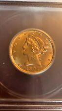 1901 5 gold coin ICG Ms61