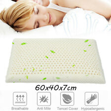 60*40*7cm 100% Natural Standard Latex Pillow for Neck Pain & Fatigue Relief Home