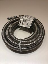 Watts Flood Safe Ice Maker Connector 10 ft. stainless steel hose