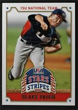 2015 USA Baseball Stars and Stripes #11 Blake Paugh - NM-MT