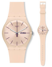 Swatch originales Suot700 Rose Rebel reloj