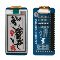 2.13'' e-Paper HAT E-Ink Display Module SPI 212×104 For Raspberry Pi 3B/Zero CHU
