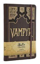 Carnet de notes officiel Buffy Vampyr Bestiaire Buffy the vampire slayer journal