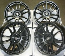"18"" GM SUZUKA ALLOY WHEELS FITS 4X108 CITROEN DS3 DS4 DS5 AIRCROSS PICASSO"