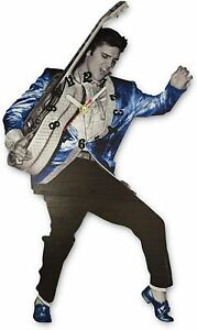 Elvis Blue Suede Shoes Swinging Legs Clock NEW mid south product