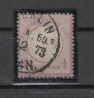X4535/ GERMANY REICH – MI # 1 USED – CV 165 $