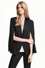 H&M Polyester Coats & Jackets for Women Blazer