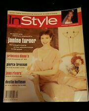 InStyle Vintage Magazine, Janine Turner on cover,December 1993 magazine