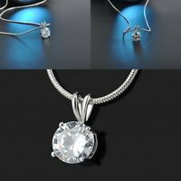 White Gold Plated Pendant Necklace Jewery