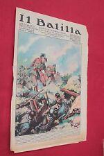 rivista a fumetti IL BALILLA Supplemento Popolo d'Italia ANNO XV N.51 (1937)