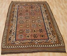 home decorative kilim hand woven wool rectangle tribal kilim rug area rugs 5X9ft