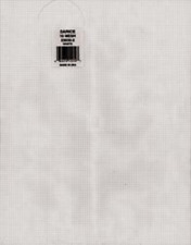 """Lot of 3 Darice Clear 10 Count (Mesh) Plastic Canvas 10.5"""" X 13.5"""""""