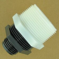 """Sump Pump Garden Hose Adapter 1.25"""" MIP to .75"""" GHT with 1.5"""" to 1.25"""" Reducer"""
