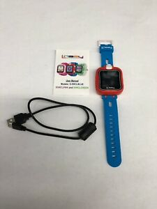 LINSAY 1.5 in. Smart Watch Kids Cam Selfie, S-5WCL Blue/Red