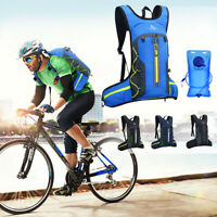 Outdoor Sports Backpack Hydration Pack 2L Water Bladder Vest Bag Cycling Running