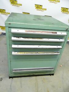 HEAVY DUTY 6 DRAWER VIDMAR STORAGE CABINET