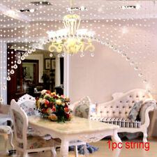 Crystals Beads String Curtain Window DIY Wall Home Decor Wedding backdrop