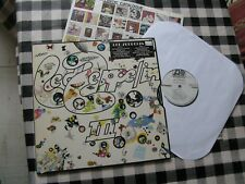 EX!!! LED ZEPPELIN III - 3 PROMO US PRESSING WHITE LABEL ATLANTIC 1970 TOP AUDIO