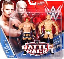 "WWE MATTEL ""BATTLE PACK"" TYSON KIDD & CESARO  [MOC]WRESTLING ACTION FIGURES"
