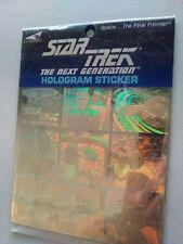 Vintage Star Trek Hologram Stickers Never Been Opened!
