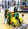 6 Figura Diorama Completo Opcional Set Lupin III The 3rd Third Fiat 500 Miyazaki