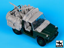 Mercedes Wolf Afghanistan accessories set, T35058, BLACK DOG, 1:35