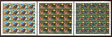 United Nations 1998 Rain Forests Issue 3 Sheets of 20 MNH