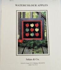 Watercolour Apples Sekas & Co.  S&C 32  kitted
