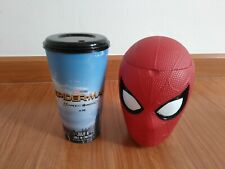 Movie Cup Bucket & CUP Spiderman Homecoming Cinema Theater Exclusive