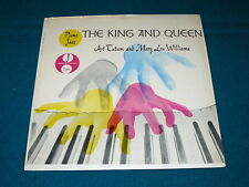 """ART TATUM & MARY LOU WILLIAMS """"The King & Queen"""" VG++ shrink LP @ ANDY WARHOL"""