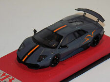 1/43 MR Lamborghini Aventador SuperVeloce Grigio Telesto China edition 100 pcs