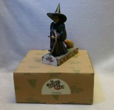 Jim Shore  Wicked Witch I'LL GET YOU MY PRETTY Wizard of Oz Figurine 4031506 NEW