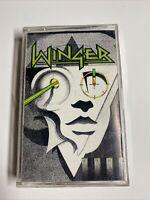 Winger Winger Cassette Tape