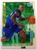 Rare: 1996-97 Fleer Ultra Encore Stephon Marbury #272, Rookie RC, Timberwolves