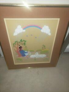 Original Rare Harrison Begay Navajo Painting