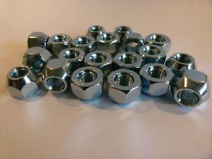 Fits Nissan Subaru Suzuki 16pcs Open End 12mm x 1.25 Steel Wheel Nuts-4 Stud