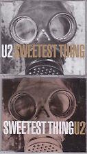 U2 - Sweetest Thing - Deleted UK/European 6trk 2x CD set (Promo)