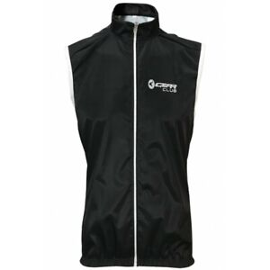 Cycling Gilet Black Shower Windproof Running Jacket Breathable